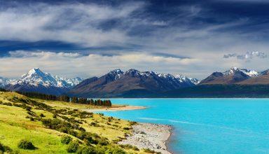New Zealand River Mountains 5k Wallpaper