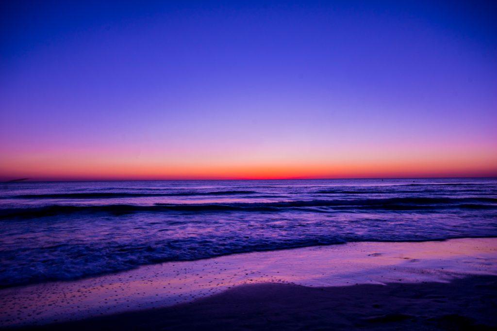 Ocean During Dawn Wallpaper