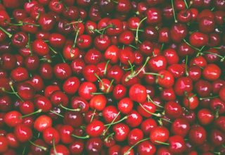 Pile of Cherry Fruit Wallpaper