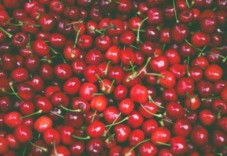 Pile of Cherry Fruit Wallpaper