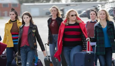 Pitch Perfect 3 Anna Kendrick, Rebel Wilson, Hailee Steinfeld Wallpaper