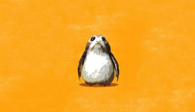 Porgs Star Wars: The Last Jedi Wallpaper
