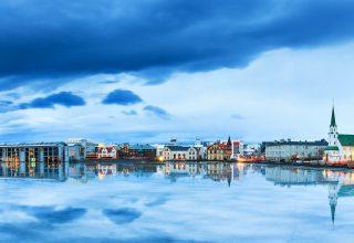Reykjavik Iceland River Sky 4k Wallpaper