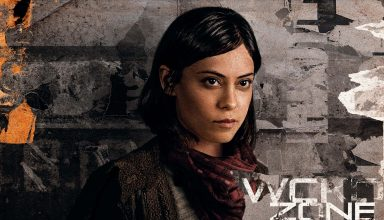 Rosa Salazar in Maze Runner: The Death Cure 2018 Wallpaper