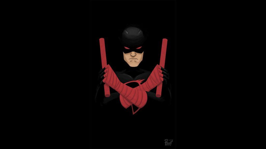 Shadowland Daredevil Artwork Wallpaper