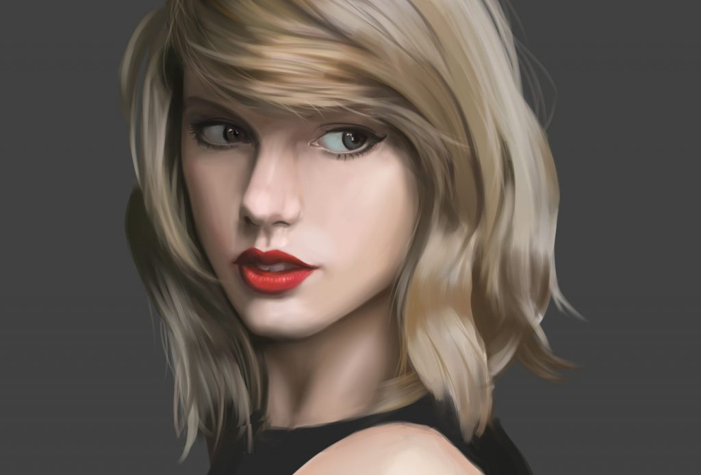 Taylor Swift Fan Art Wallpaper