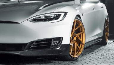 Tesla Model S Novitec 4k Wallpaper