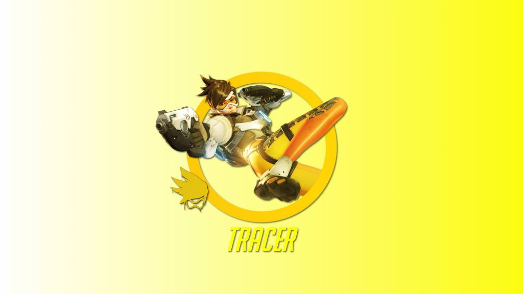 Tracer Overwatch Hero Wallpaper