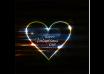 دانلود وکتور Happy Valentine's day colorful shiny heart background
