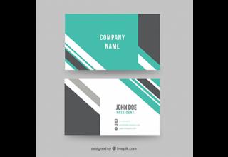 دانلود وکتور Abstract modern business card
