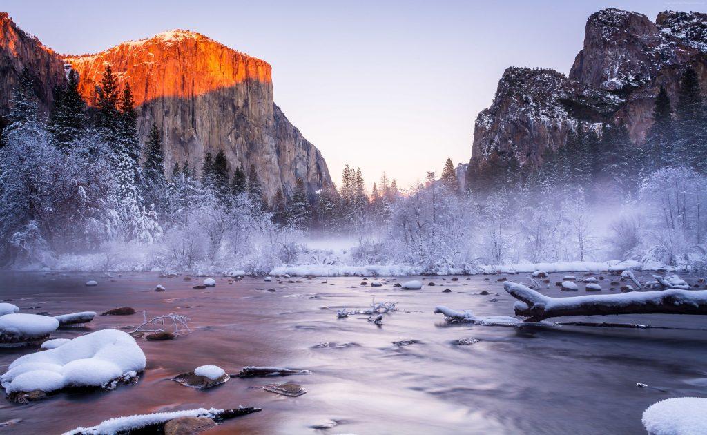 Yosemite National Park California USA Wallpaper