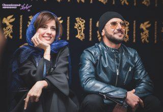 امین حیائی و سارا بهرامی - شهاب اسدی - جشنواره فیلم فجر 96
