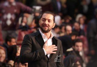 بهرام رادان - الناز نصیری - جشنواره فیلم فجر 96