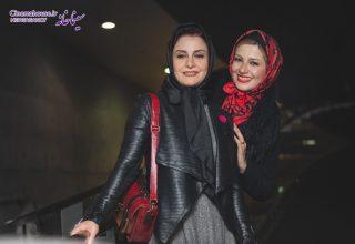 ملیکا و مریلا زارعی - شهاب اسدی - جشنواره فیلم فجر 96