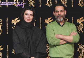 پیمان معادی و لیلا حاتمی - شهاب اسدی - جشنواره فیلم فجر