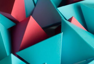 3D Triangle Cube Wallpaper