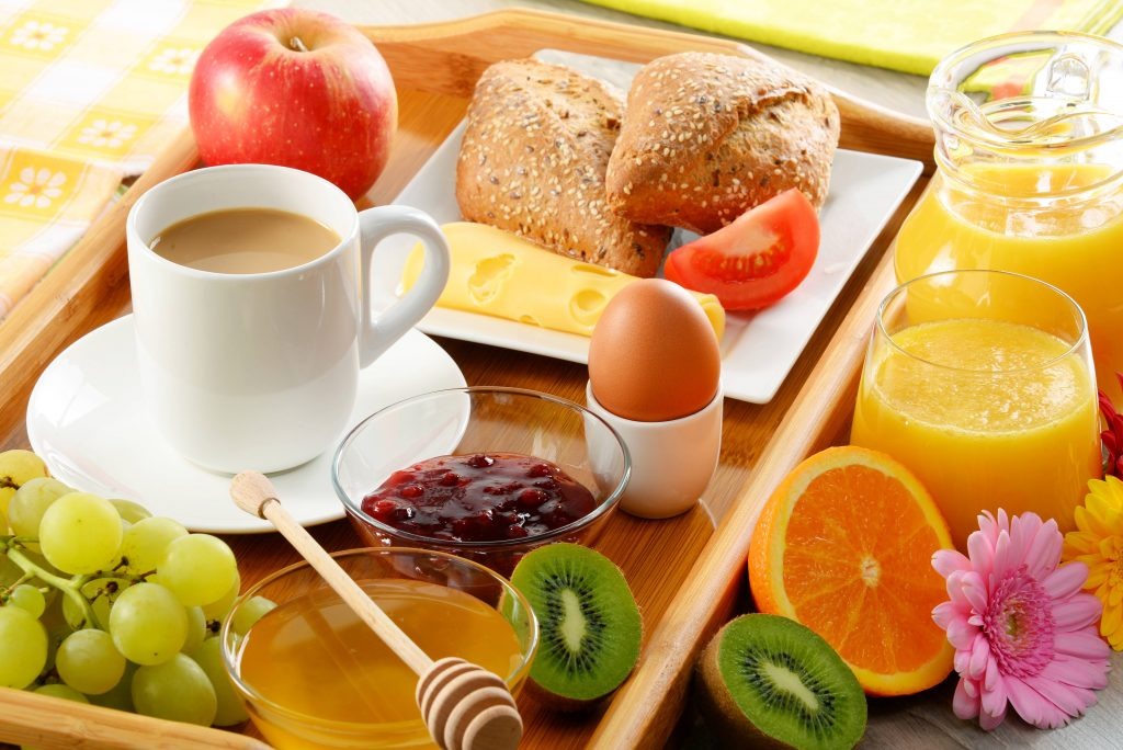 Breakfast Wallpaper