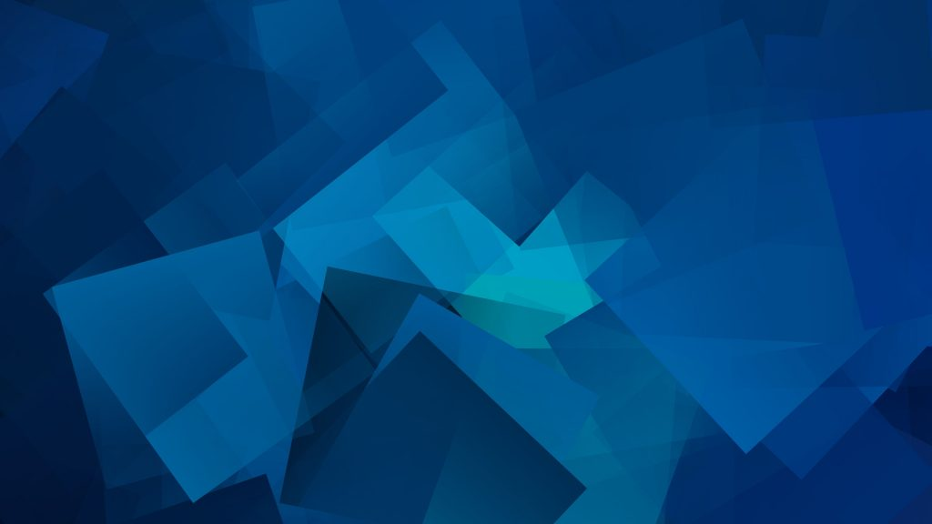 Cube Geometry Gradient Wallpaper