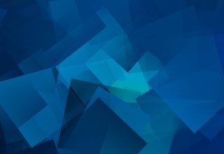 Cube Geometry Gradient Wallpaper
