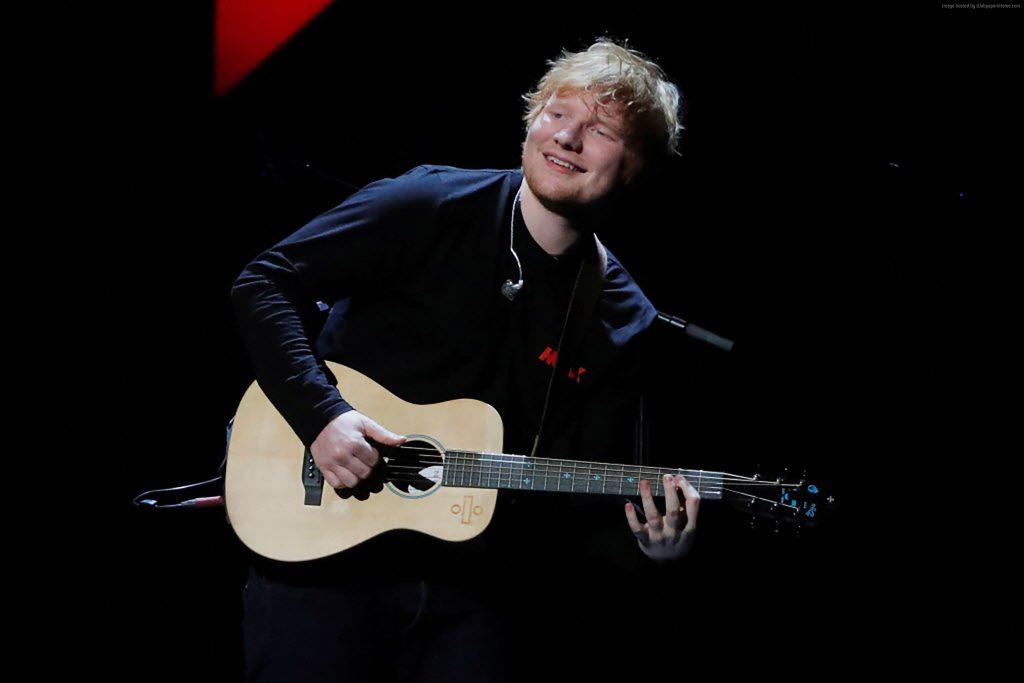 Ed Sheeran Grammy 2018 4k Wallpaper