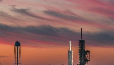 Falcon Heavy SpaceX Wallpaper