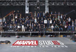 Marvel 10 Year Anniversary Wallpaper