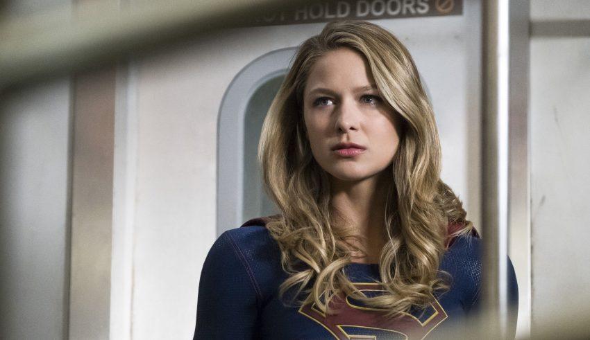 Melissa Benoist as Supergirl TV Series Wallpaper