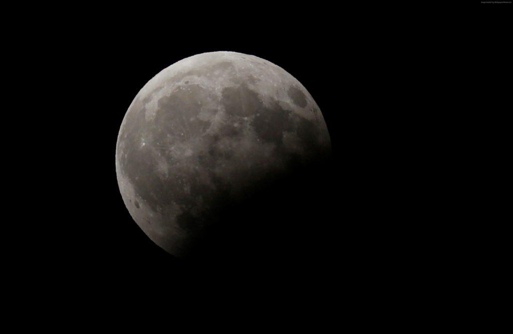 Moon Eclipse 4k Wallpaper