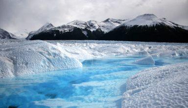 Mountains Glacier Chile Snow Wallpaper