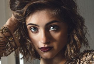 Natalia Dyer Close-up Wallpaper