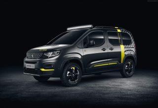 Peugeot Rifter 2018 Cars Wallpaper