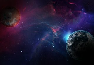 Space Galaxy Planet Wallpaper