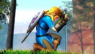 The Legend of Zelda 3D Art Wallpaper