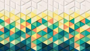 Triangle Pattern Wallpaper