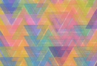 Triangle Pattern Mosaic Shape Square Abstract Wallpaper
