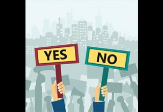 دانلود وکتور Protest in city