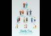 دانلود وکتور Family Tree Flat