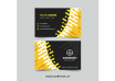 دانلود وکتور Business card in flat style