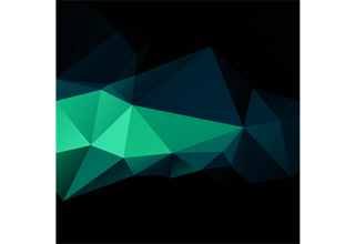 دانلود وکتور Abstract dark colorful polygon design