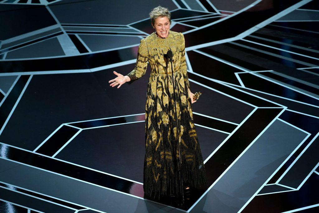 Frances McDormand Oscar 2018