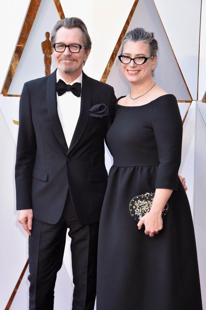 Gary Oldman and Gisele Schmidt Oscar 2018