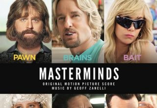 دانلود موسیقی متن فیلم Masterminds