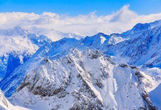 Alps Switzerland Mountains Snow Wallpaper