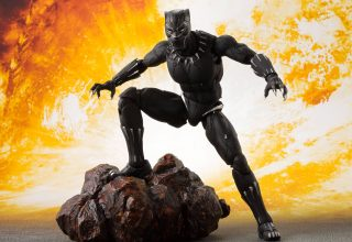 Black Panther Action Figure Wallpaper