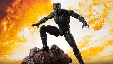 Black Panther Action Figure Wallpaper