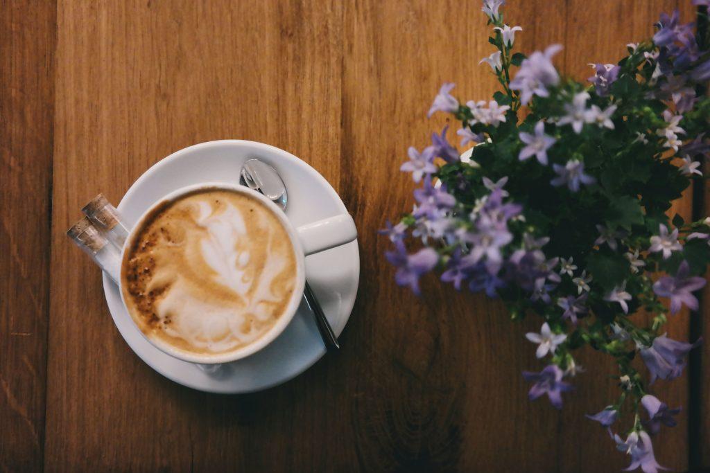 Caffeine Cappuccino Coffee Cup Wallpaper