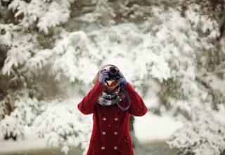 Camera Cold Fashion Female Wallpaper