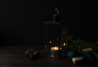 Candlestick Candle Gifts Dark Wallpaper