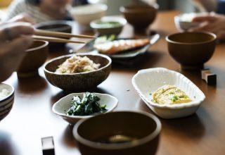 Chopsticks Sushi Wood Table Rawpixel Wallpaper