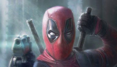 Deadpool Pointing Gun Artwork Wallpaper